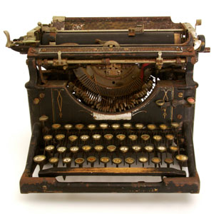 antique vintage typewriter