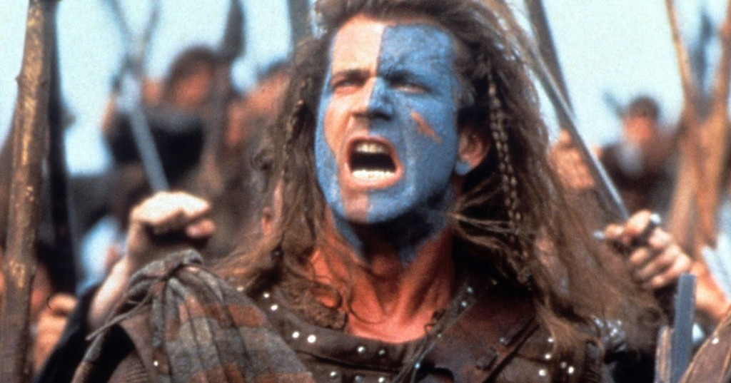 Mel-Gibson-in-a-scene-from-the-film-Braveheart-1995